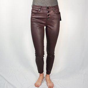 BLANKNYC The Great Jones Coated Skinny Jeans NWT